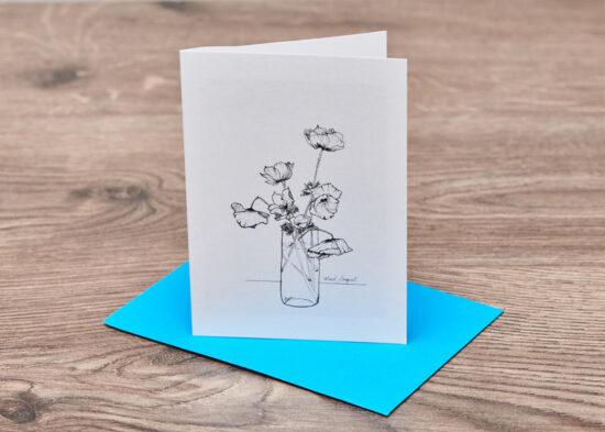 Mixed Bouquet Card
